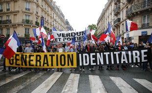 """Dix neuf membres de l'association d'extrême droite """"Génération identitaire"""" étaient renvoyés jeudi 12 mars 2020 devant le tribunal correctionnel de Bobigny."""