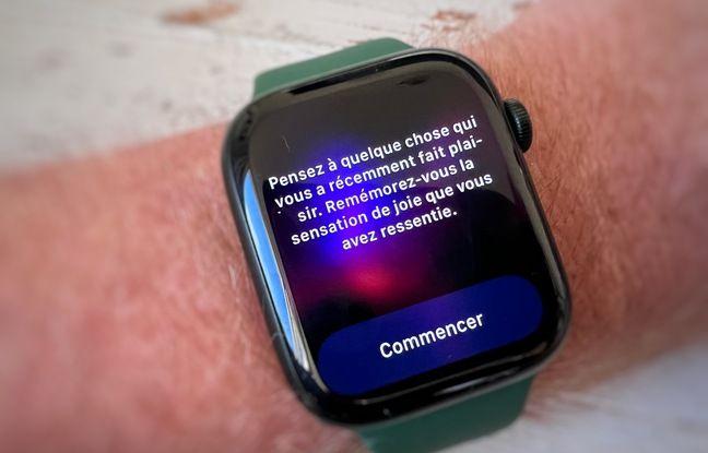 Sesje medytacyjne Apple Watch Series 7.
