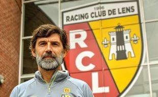 Eric Sikora, l'entraîneur du RC Lens