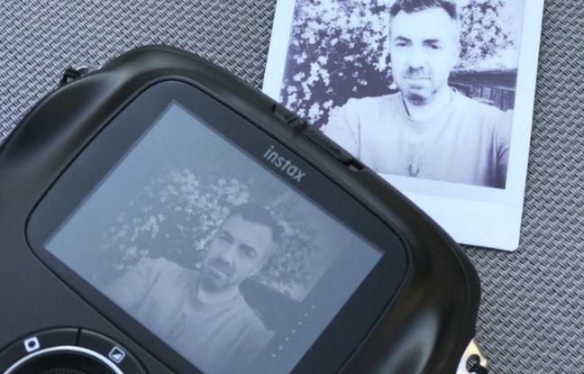 A modifier à tout instant sur l'écran de l'Intax Square, la photo peut ensuite être imprimée...