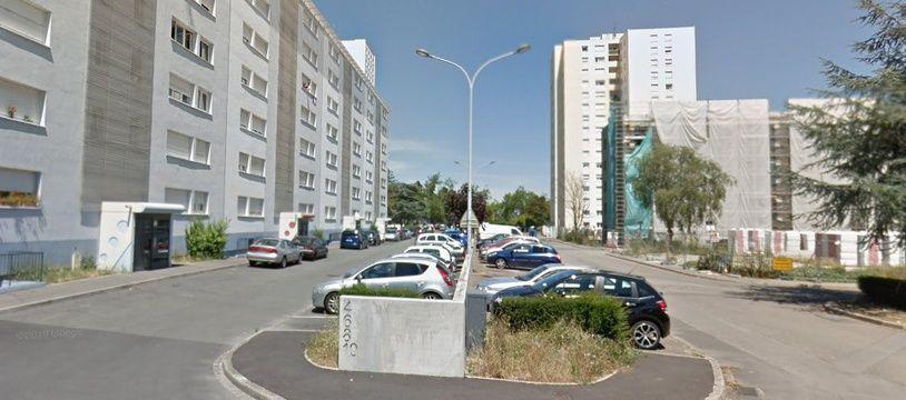 rue de Madrid Colmar. Capture d'écran Google Map.