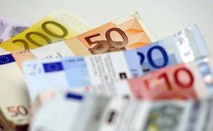 Des liasses d'euros. (photo illustration)