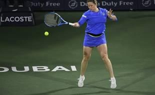 Kim Clijsters a réussi à pousser Muguruza au tie-break du 2e set pour son retour.