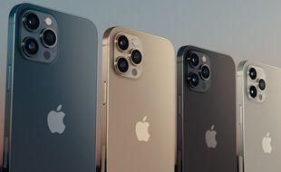 Des iPhone 12 Pro (illustration).