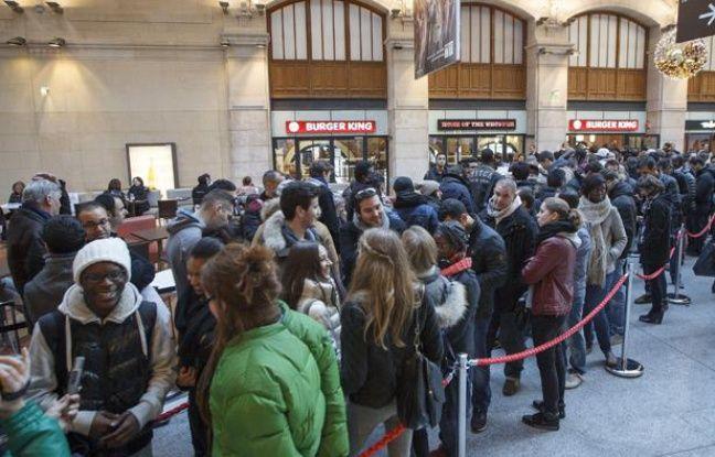 Video on a test le premier burger king de paris - Restaurant gare saint lazare ...