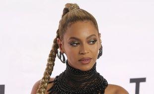 La chanteuse Beyoncé à New York