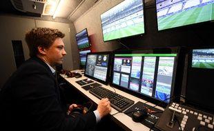 L'arbitrage vidéo a été utilisé lors du barrage aller entre le Paris FC et Orléans, le 23 mai 2017 (illustration).