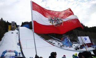 Un drapeau autrichien