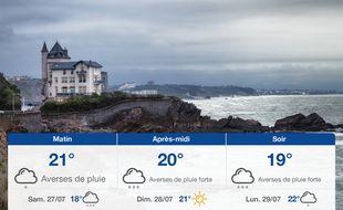 Météo Biarritz: Prévisions du vendredi 26 juillet 2019