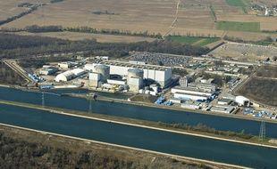 La centrale EDF de Fessenheim.