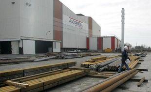 Le site d'Ascométal à Fos-sur-Mer, le 20 mars 2006
