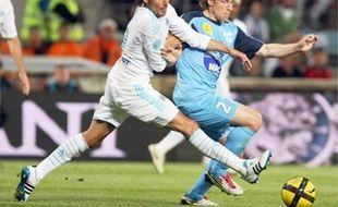 Gaby Heinze a inscrit le dernier but marseillais sur un coup franc.