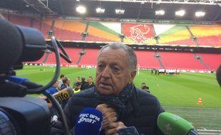 Jean-Michel Aulas rêve d'un sacre de l'OL en Ligue Europa