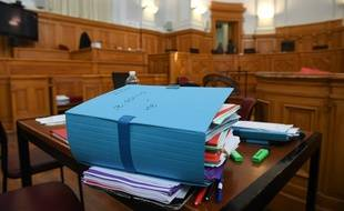 Illustration d'un tribunal.