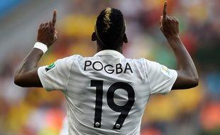 Paul Pogba, après sa victoire face au Nigeria, le 30 juin 2014.