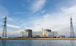 Vue de la centrale nucléaire de Fessenheim (Haut-Rhin), le 14 mars 2011