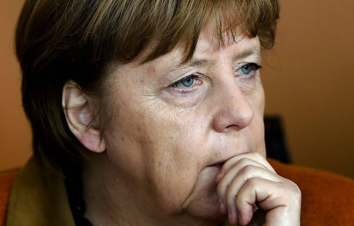 Angela Merkel assiste à la réunion hebdomadaire du gouvernement, le 15 mars 2017. – Markus Schreiber/AP/SIPA