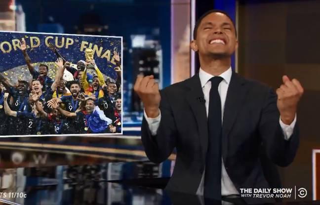 VIDEO. Coupe du monde: «L'Afrique a gagné le Mondial»... Le Daily Show dérape sur les Bleus et se fait torpiller par Evan Fournier