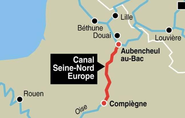 Hauts-de-France: Le canal Seine-Nord en proie aux premières interrogations environnementales