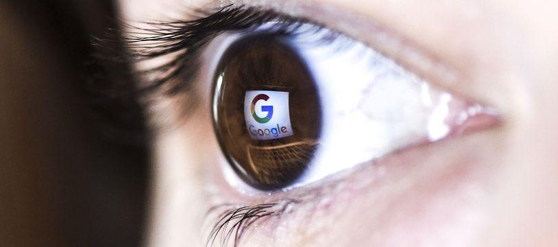 Illustration du logo Google.