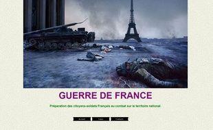 Les membres de l'AFO se préparent à ce qu'ils appellent la guerre de France