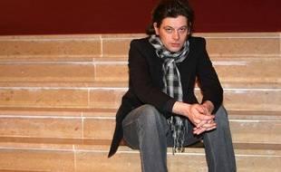 Le chanteur Benjamin Biolay, le 2 février 2010, à Arcachon.
