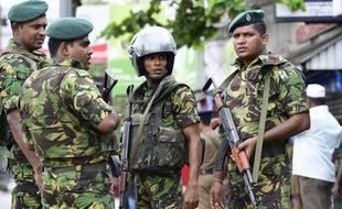 Des militaires et des policiers ont donné l'assaut contre Daesh au Sri Lanka dans la nuit de vendredi à samedi.