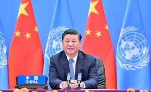 En 2021,  Xi Jinping, le Président chinois.