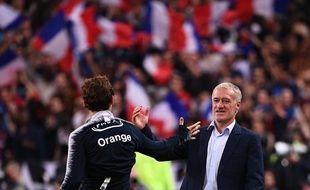 Deschamps admet que Griezmann est un peu sous-côté en France.