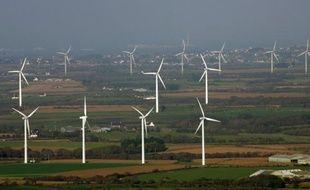 Le parc éolien de la Bretagne a fourni plus de la moitié de l'électricité produite en 2011 dans cette région, en fort déficit électrique, a annoncé mardi Réseau transport d'électricité (RTE).