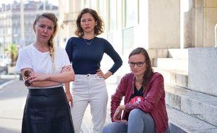 Anaïs Bourdet, Elsa Miské et Margaïd Quioc, l'équipe du podcast féministe marseillais YESSS.
