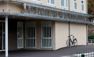 Strasbourg le 18 septembre 2014. Le Palais de justice. Illustrations