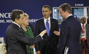 """Les grandes puissances du G20 ont tenté jeudi à Cannes (France) d'afficher un front uni face à la crise de la dette et aux soubresauts grecs qui risquent de déclencher une """"réaction en chaîne"""" pour l'économie mondiale, tout en exhortant l'Europe à résoudre ses problèmes."""