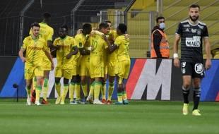 Le FC Nantes a dominé Brest (3-1), à la Beaujoire.