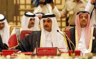 Plusieurs pays du Conseil de coopération du Golfe (CCG) accusent le Qatar – dirigé par l'émir al-Thani (photo) – de soutenir le terrorisme.
