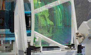 Le laser PETAL au sein de l'installation laser Mégajoule au Barp.