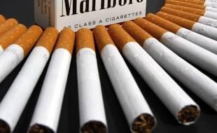 Des cigarettes Marlboro (illustration).