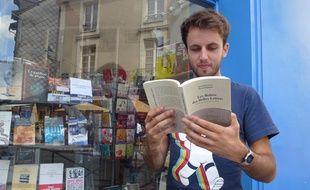 Quentin Leclerc, étudiant rennais de 22 ans, coauteur du livre Les Boloss des belles lettres.