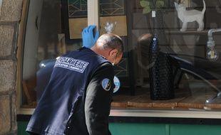 Les gendarmes se sont chargés de l'enquête sur les tirs à Roquebilière.