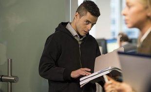 Rami Malek dans Mr. Robot (USA Network)