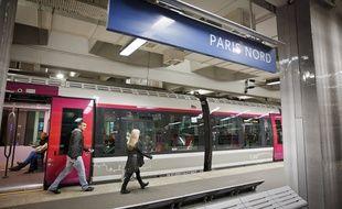 Gare du Nord à Paris. (Illustration)