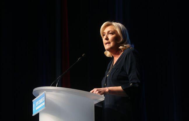 Marine Le Pen au Congrès du RN