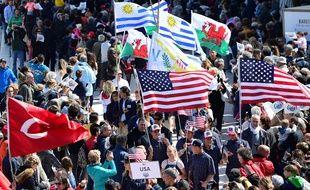 Les sportifs viennent d'une quarantaine de pays.