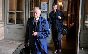 Jean-Michel Aulas à la sortie du Conseil d'Etat, à Paris, le 4 juin 2020.