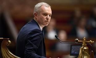 Le président (LREM) de l'Assemblée national, François de Rugy.