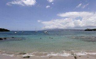 Christophe Maleau, 12 ans, a rallié à la nage l'île de Sainte-Lucie à la Martinique (photo illustration).