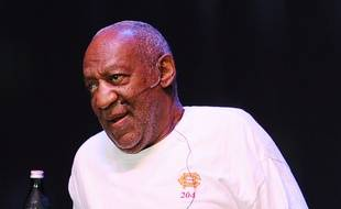 L'acteur Bill Cosby sur la scène du Hard Rock Hotel & Casino en 2013