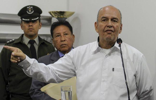 Bolivie: Le ministre de l'Intérieur accuse Evo Morales de «terrorisme»