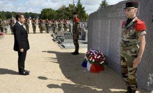 """""""En ignorant si longtemps le drame de Maillé, en restant indifférente à la douleur des survivants, en laissant s'effacer de sa mémoire le souvenir des victimes, la France a commis une faute morale"""", a déclaré M. Sarkozy, premier président à se rendre sur les lieux du """"village martyr"""", le jour anniversaire du massacre, perpétré le jour-même de la Libération de Paris."""