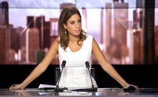 Léa Salamé sur le plateau de «Ça se dispute» sur iTélé.